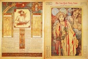 Alphonse Maria Mucha - The New York Daily News, 1904