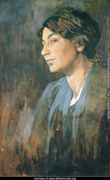 Portrait of Marushka, Artist's Wife, 1905