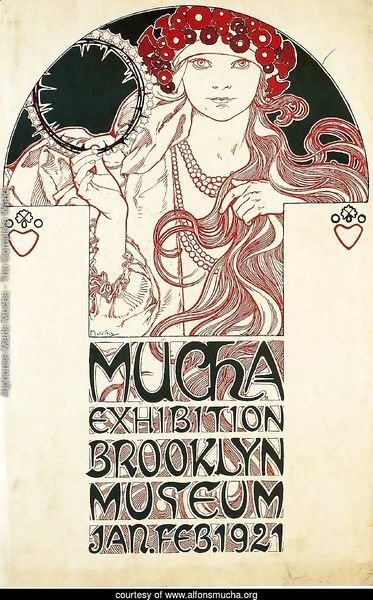 Poster for the Brooklyn Exhibition, 1921