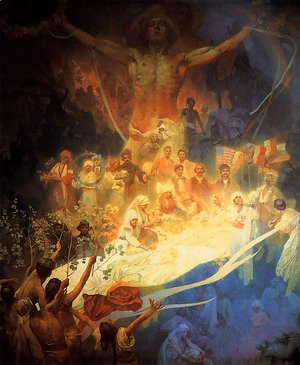 Alphonse Maria Mucha - Apotheosis_of_the_Slavs_1926