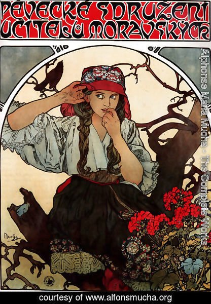 Alphonse Maria Mucha - Moravian Teachers' Choir