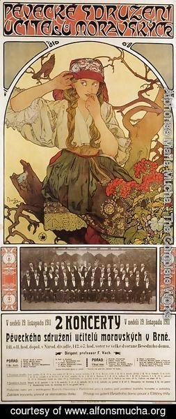 Alphonse Maria Mucha - Morovian Teachers Choir