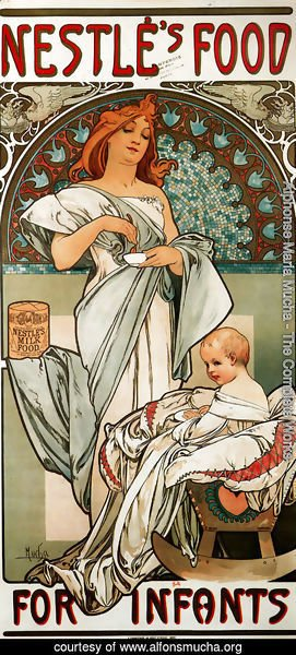 Alphonse Maria Mucha - Nestlé's Food for Infants