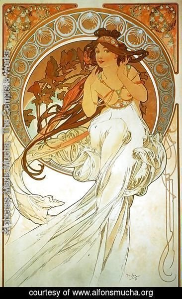 Alphonse Maria Mucha - The Arts, Music
