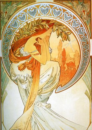 Alphonse Maria Mucha - The Arts, Poetry
