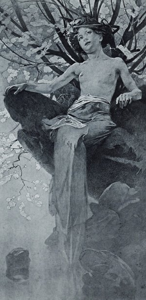 Alphonse Maria Mucha - Unknown 7