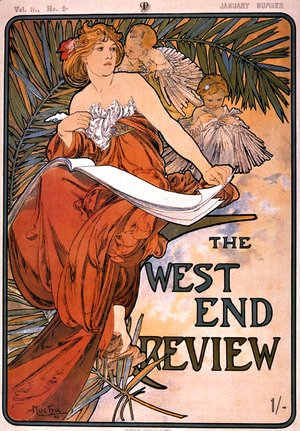 Alphonse Maria Mucha - The west end review