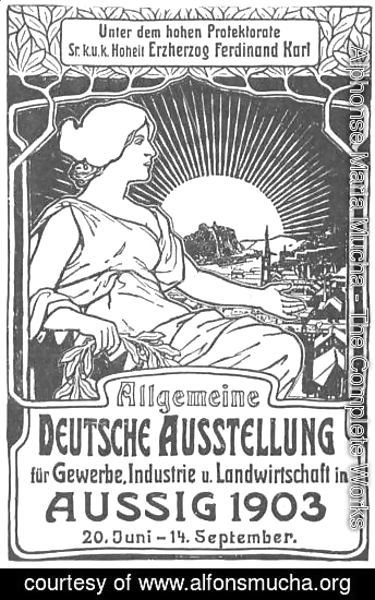 General German poster exhibition for trade, industry and agriculture