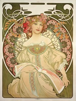Alphonse Maria Mucha - Champagne Printer Publisher
