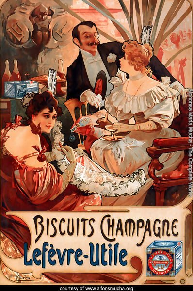 Alphonse Maria Mucha - The Complete Works - Biscuits ...