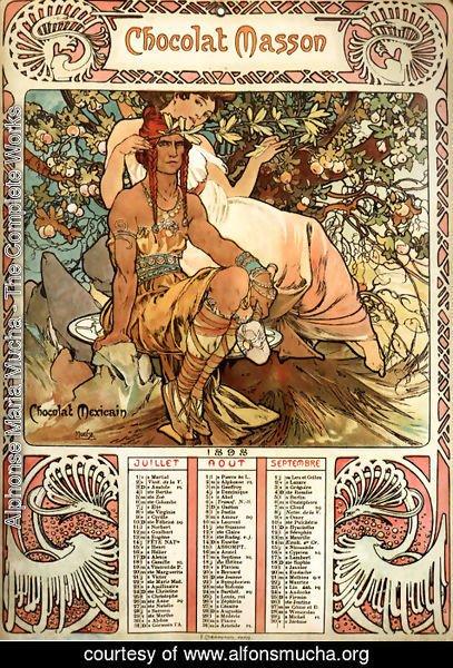 Alphonse Maria Mucha - The Complete Works - Manhood ...