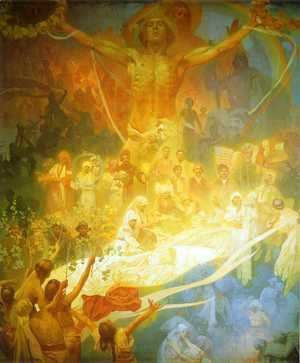 Alphonse Maria Mucha - The Apotheosis Of The Slavs